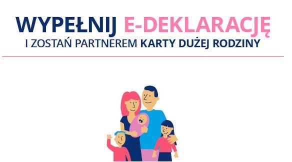Zostań Partnerem Karty Dużej Rodziny